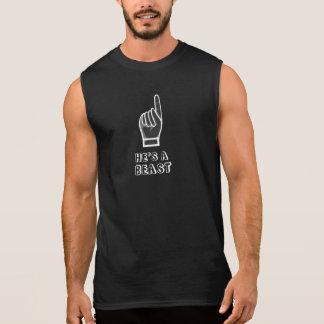 Il est une BÊTE T-shirt Sans Manches