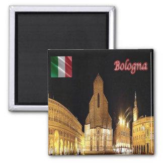 IL - l'Italie - Bologna Magnet Carré