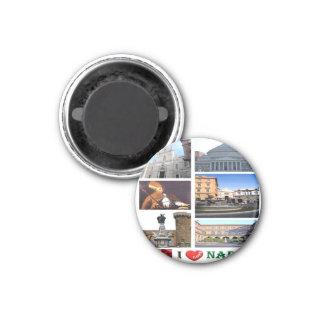 IL - l'Italie - Naples - amour d'I - mosaïque de Aimants