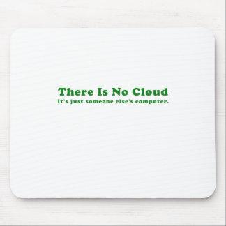 Il n'y a aucun nuage son juste quelqu'un tapis de souris