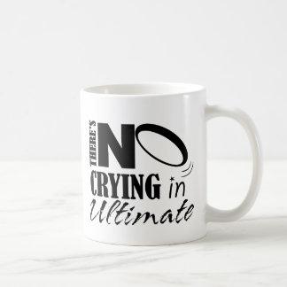 Il n'y a aucun pleurer dans final mug
