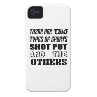 Il y a deux types de tir de sports mis et de coques iPhone 4