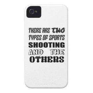 Il y a deux types du tir et de d'autres de sports coque Case-Mate iPhone 4