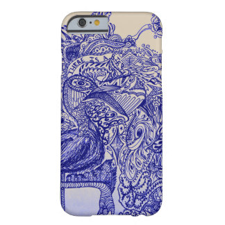 Il y a un oiseau coque barely there iPhone 6