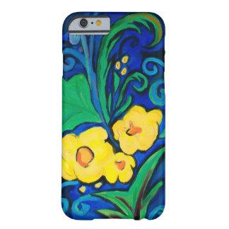 Île de LineA florale Coque iPhone 6 Barely There