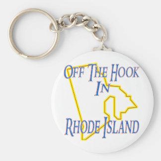 Île de Rhode - outre du crochet Porte-clé Rond