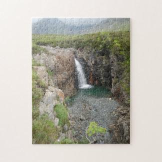 Île de Skye, cascade Puzzle