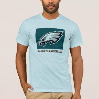 Île Eagles de Marco Marco au-dessous de 12 T-shirt
