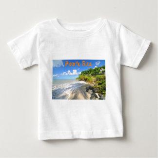 Île tropicale à Porto Rico T-shirt Pour Bébé