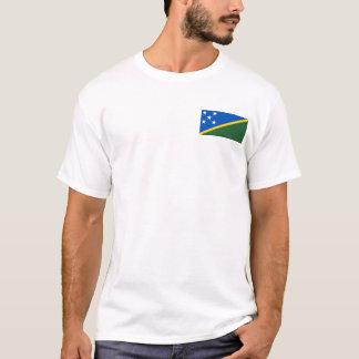 Îles Salomon marquent et tracent le T-shirt