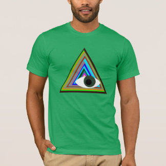 Illuminati de travers t-shirt