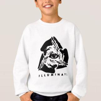 Illuminati tout l'oeil voyant sweatshirt