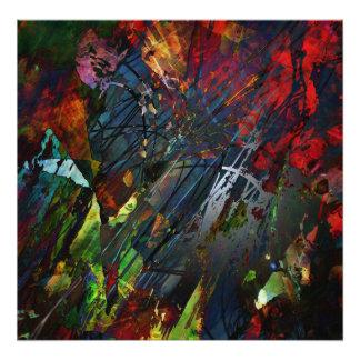 Illustration abstraite  tirage photo