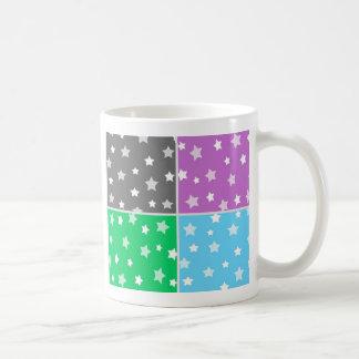 Illustration colorée de profil sous convention mug