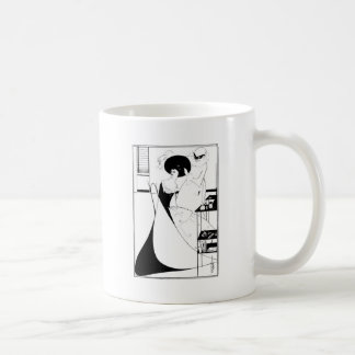Illustration d'Aubrey Beardsley Salome Mug Blanc