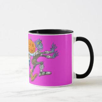 Illustration de bande dessinée des caractères de mug