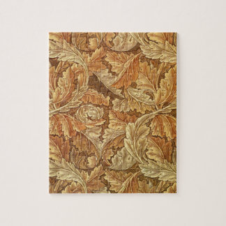 Illustration de Brown d'acanthe de William Morris Puzzle