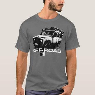 Illustration de défenseur de Land Rover T-shirt