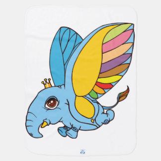 illustration de la créature mignonne d'imaginaire couvertures de bébé