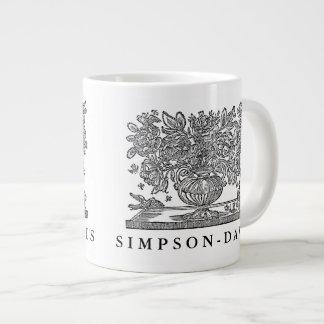 Illustration florale personnalisée avec des mug