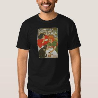 Illustration française vintage par Theophile T-shirt