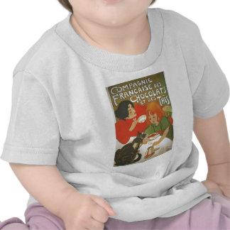 Illustration française vintage par Theophile T-shirts