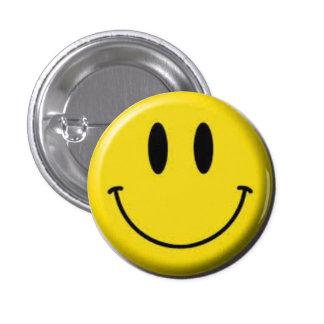Ilplaque-sourit Badge Rond 2,50 Cm