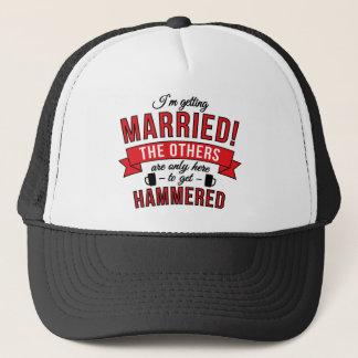 Im obtenant a marié les autres sont seulement ici casquette