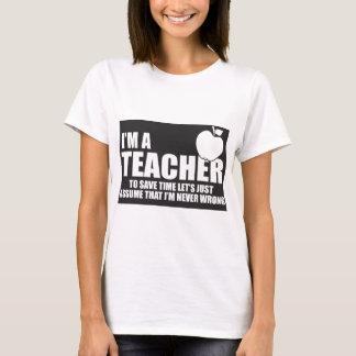 - im-un-professeur t-shirt