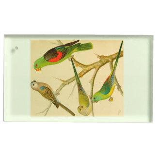 image 1878 de naturaliste des perruches porte-cartes de  table