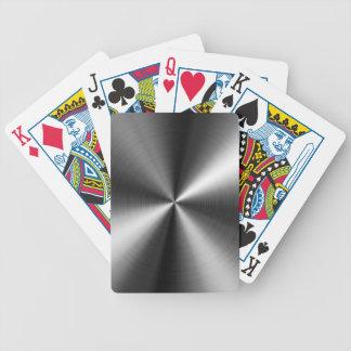 Image d'acier inoxydable jeu de cartes