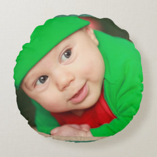 Image de bébé coussins ronds