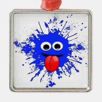 Image de produit pour le mignon et le plus chaud ornement carré argenté