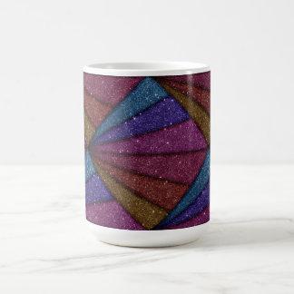 Image de scintillement géométrique mug