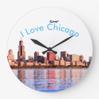 Image des Etats-Unis pour la grande horloge murale