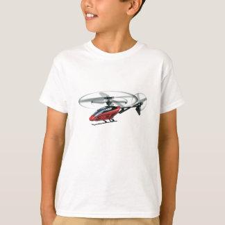 Image d'hélicoptère pour le T-shirt d'enfant en