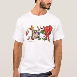 Image LOONEY de base-ball de groupe de TUNES™ T-shirt