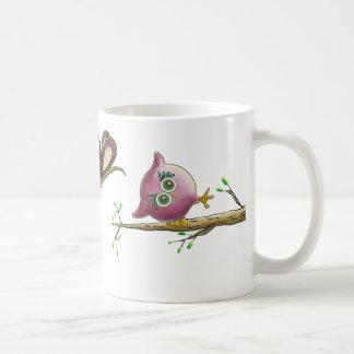 Image mignonne drôle de hibou mug