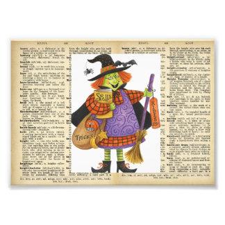 Image vintage de Halloween à la page vintage de Impressions Photo