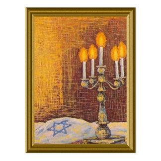 Image vintage juive carte postale