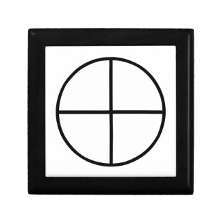 Images du nombre 4 : la croix traditionnelle boîte à souvenirs