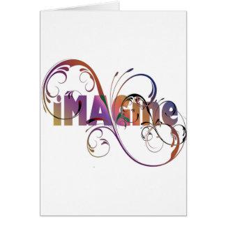 """""""Imaginez"""" la carte de voeux"""