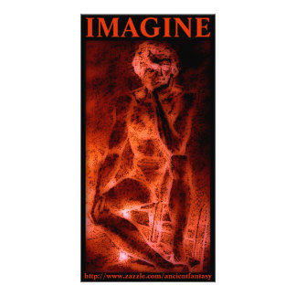 IMAGINEZ l'art fait sur commande de photo Photocarte Personnalisée