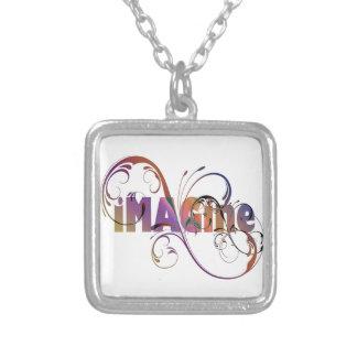 """""""Imaginez"""" le collier plaqué par argent"""