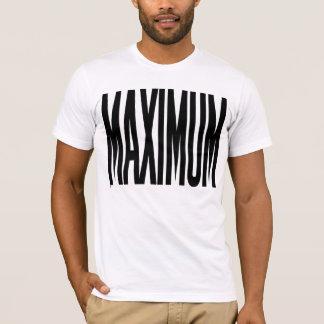IMPACT MAXIMUM (lettrage noir) T-shirt