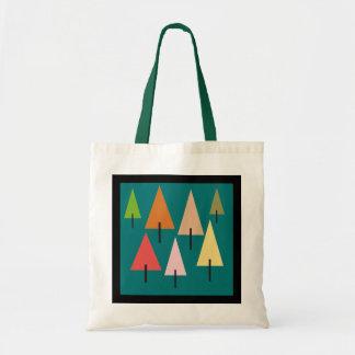 Impression artistique de forêt tote bag