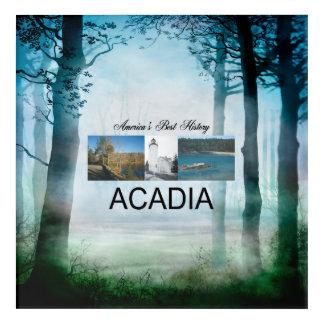 Impression En Acrylique Acadia d'ABH