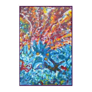 Impression En Acrylique PEINTURE MURALE v2 d'allumage de la vie