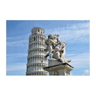 Impression En Acrylique Tour penchée de Pise, Italie