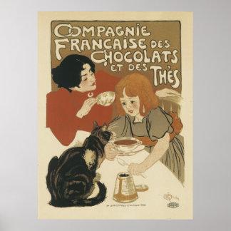 Impression fine de DES Chocolats de Francaise